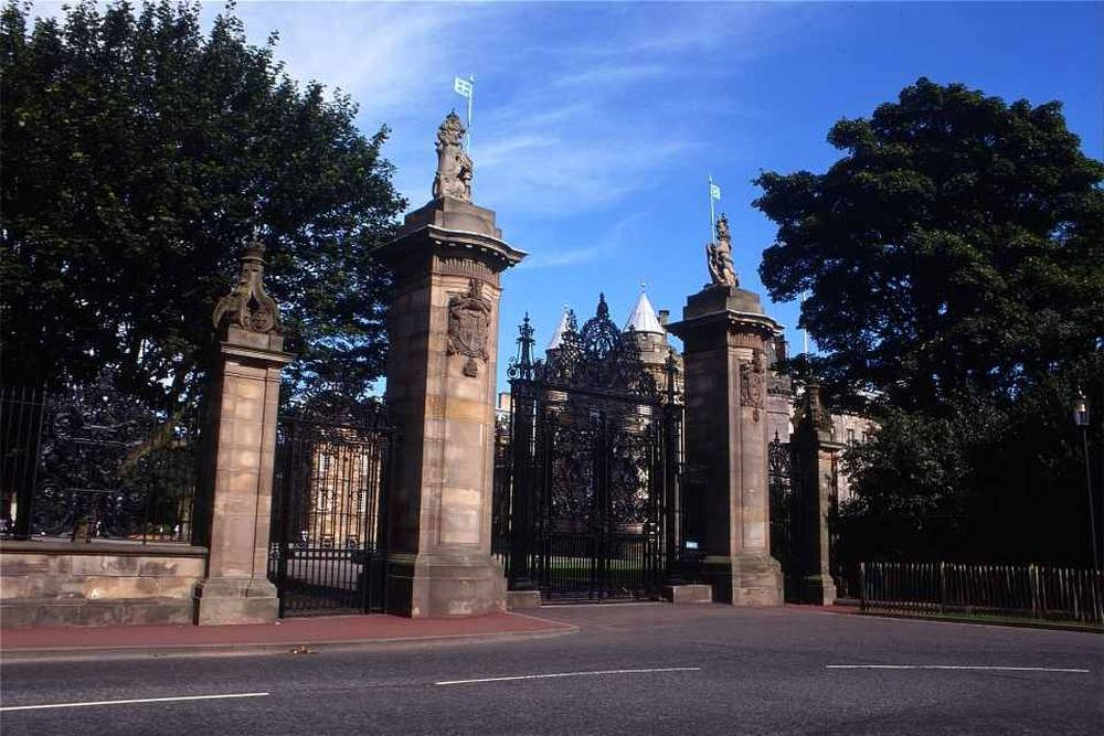 Palace of Holyroodhouse gates
