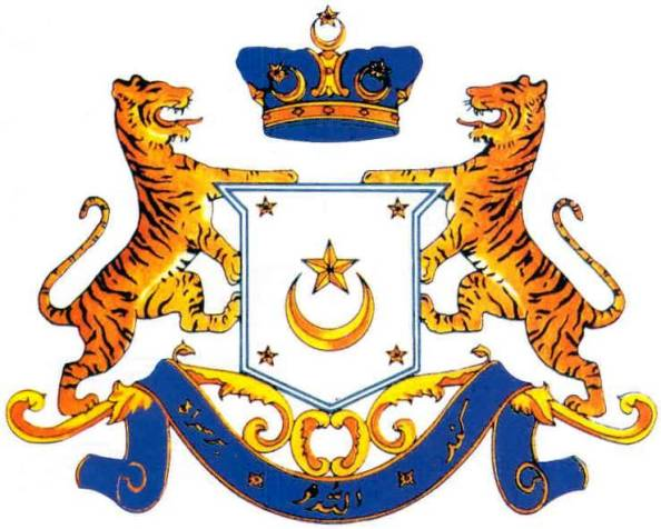 Johore coat of arms