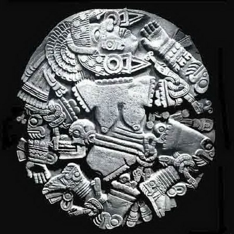 Coyolxauhqui Stone Carving