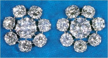 Queen Mary's Floret Earrings