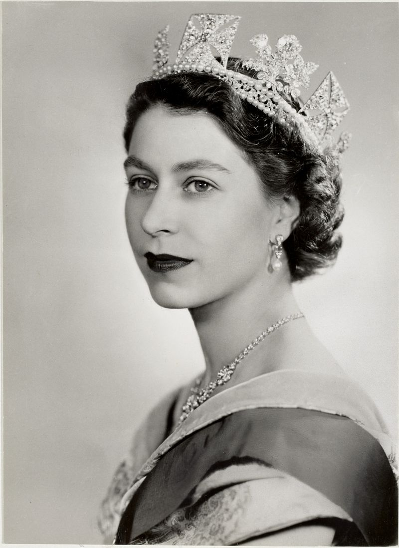 Photo by Dorothy Wilding, 26 February 1952, HM The Queen Elizabeth II
